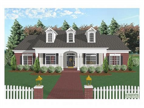 southern living house plans one story southern house plans one story 28 images country southern house plans country
