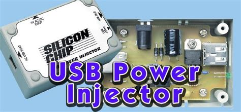 Usb Power Injector silicon chip usb power injector