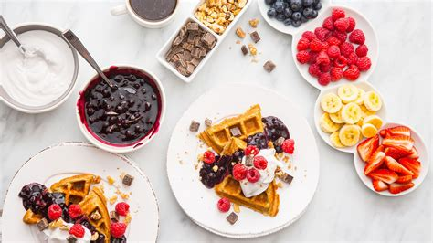 toppings for waffle bar protein waffle bar vega