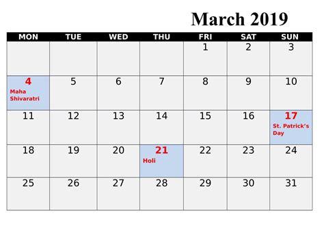 march  calendar india qualads