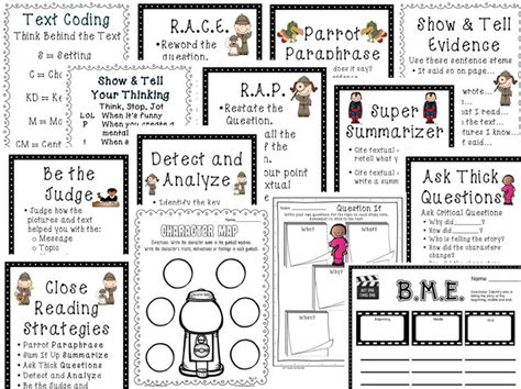 1st grade common core tools for close reading assessment