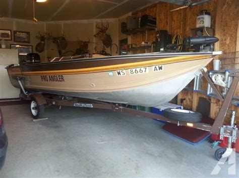 boat parts janesville wi 1985 17 smoker craft pro angler for sale in janesville