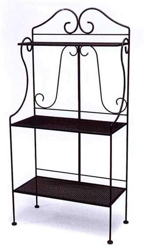black wrought iron ls wrought iron baker s racks