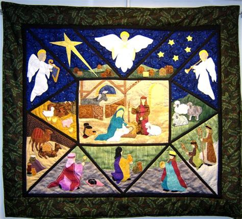 Nativity Quilt Patterns by Quilts Quot Is From The Quilt Book Adoration