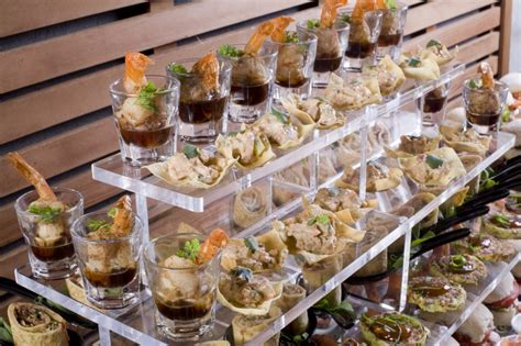 food station trends in catering embrace buffet foods for