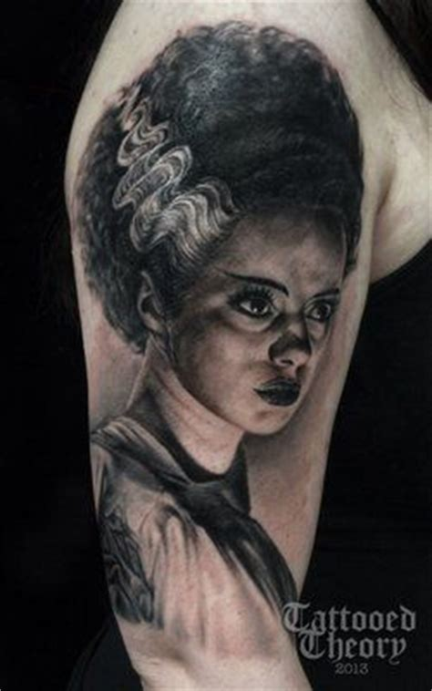 bride of frankenstein tattoo 115 best images about of frankenstein tattoos on