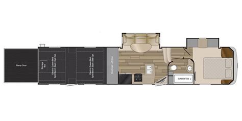 cyclone 4200 floor plan specs for 2018 toy hauler heartland rv cyclone rvs rvusa