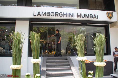 Lamborghini Showroom In India Pics Report Lamborghini Mumbai Showroom Team Bhp