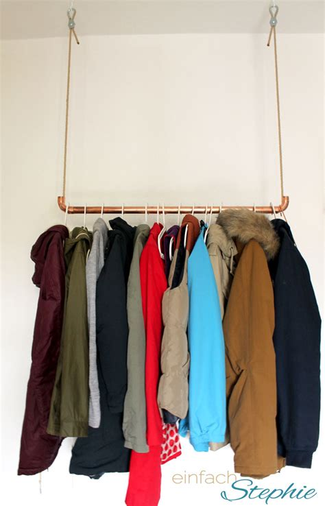 garderobe kupfer diy m 246 bel aus kupfer und weinkisten einfach stephie