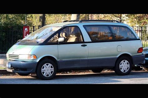 toyota previa the toyota previa is the supercar of minivans autotrader