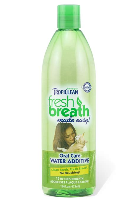 water additive for breath fresh breath water additive for cats tropiclean pet products for dogs and cats