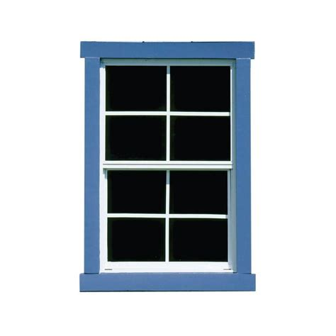 houses with small windows handy home products small square window 18810 7 the home depot