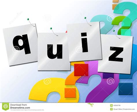 quiz questions video clips quiz questions means frequently puzzle and quizzes stock