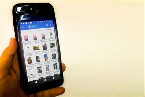 iphone or android inexplicable kickstarter project puts android on an iphone android authority