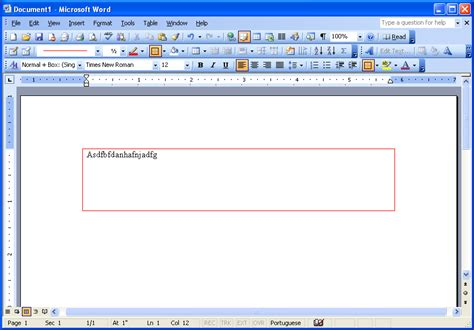 change page border color in word 2003 microsoft office