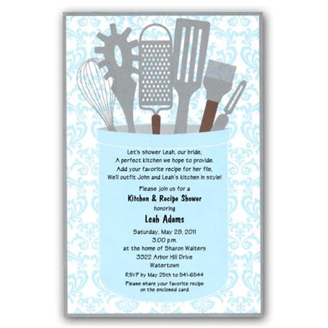 kitchen tea party invitation ideas kitchen shower invite wording party ideas pinterest