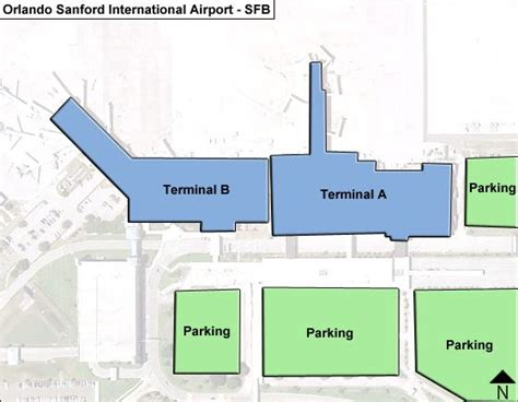 Orlando Terminal Map by Sanford Orlando Airport Arrivals Related Keywords