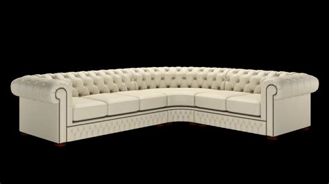 Customize Your Sofa Corner Chesterfield Sofa