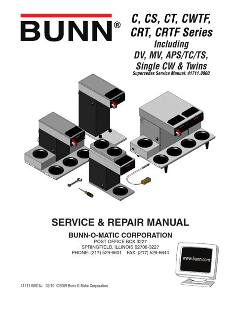 bunn cw series service manual wiring diagrams wiring