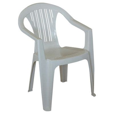 white plastic chairs buy plastic stacking garden chair white from our outdoor