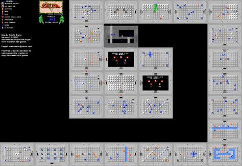 legend of zelda map level 7 the legend of zelda level 7 quest 2 map