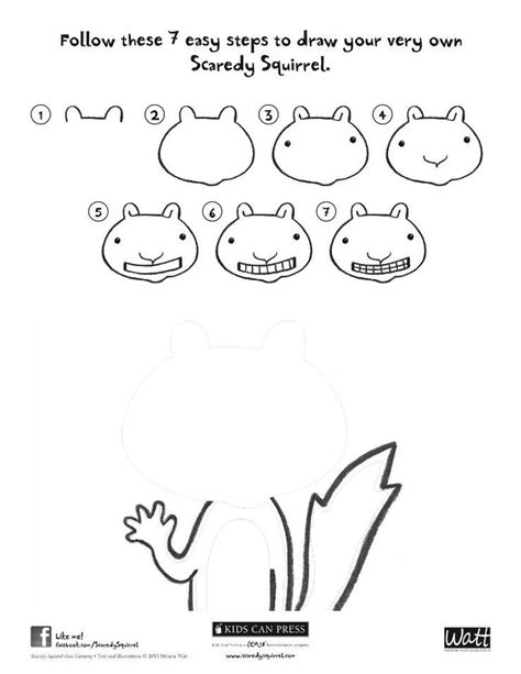 coloring page of scaredy squirrel 17 best scaredy squirrel activity sheets images on