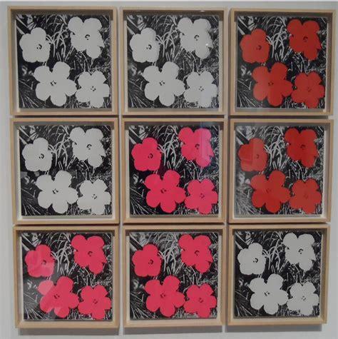 andy warhol fiori andy warhol fiori 1964 vernice di polimeri sintetici e