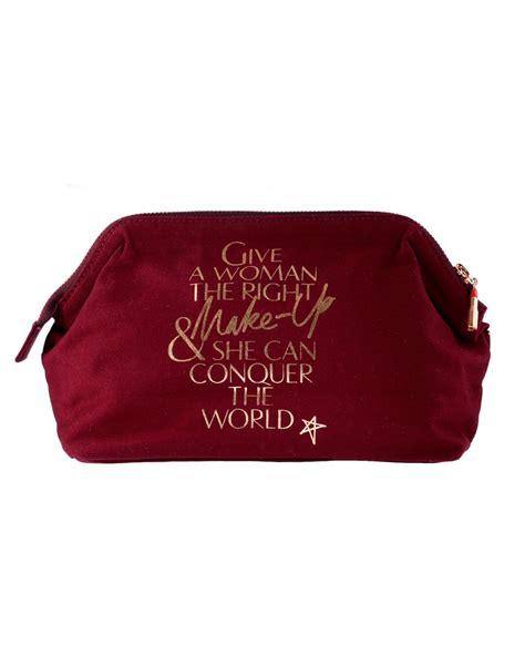 Printed Makeup Bag burgundy lip printed makeup bag 3rd edition