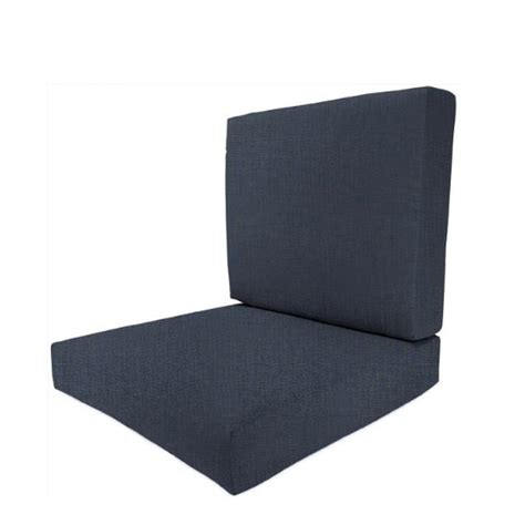 Home Decorators Outdoor Cushions by Home Decorators Collection Sunbrella Indigo Outdoor Dining Chair Cushion 2249820770 The Home Depot
