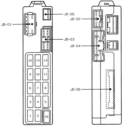 i need a fuse box diagram for a 96 mazda 626 ls with the 2