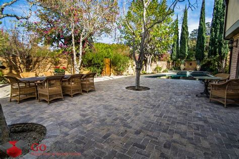 Patio Paving Stones Prices by Get The Best Patio Pavers Installation Service Go Pavers