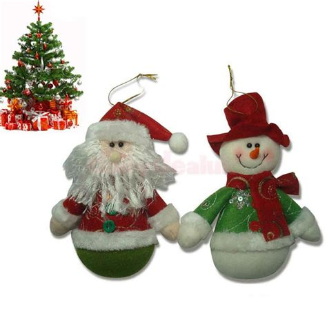 santa claus tree decorations snowman santa claus tree decorations