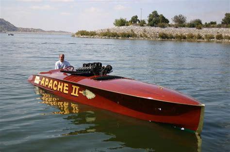 boat racing facts website vintage speed boat racer print apache ii automobiles