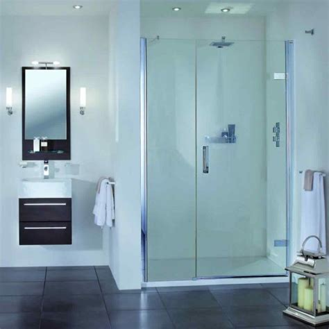 Recess Shower Door Aqata Spectra Hinged Shower Door Inline Panel Sp457