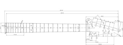 Stratocaster Headstock Template by Fender Stratocaster P 225 2