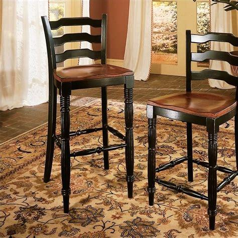"""Hooker Furniture Indigo Creek 30.63"""" Bar Stool in Rub through Black   332 75 360"""