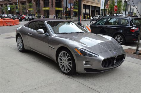 Maserati Chicago by 2011 Maserati Granturismo Convertible Stock R160aaa For