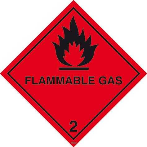 flammable home flammable gas 2 hazard sign shop signs sign maker sign