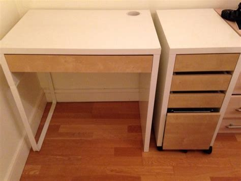 Ikea Computer Desk Sale Ikea Computer Desk With Drawers For Sale In Greystones Wicklow From Daresie