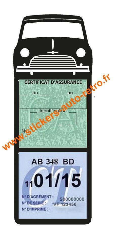 porte assurance voiture mega mini 1000 porte assurance stickers auto retro