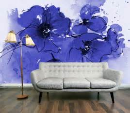 large flower wall murals 48 eye catching wall murals to buy or diy brit co