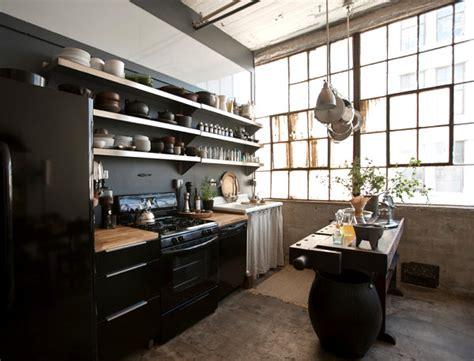 3 Urban Lofts With Unforgettable Style New York Loft Kitchen Design