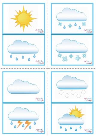 print flash cards double sided weather picture flash cards double sided