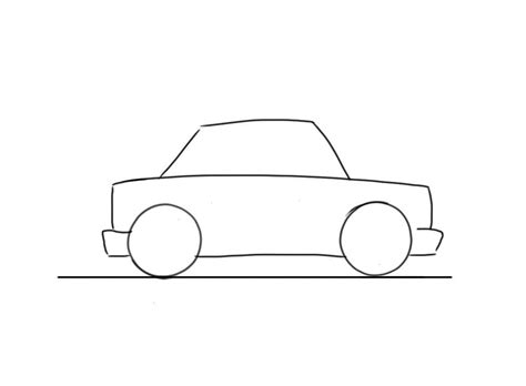 easy drawing easy car to draw for junior car designer