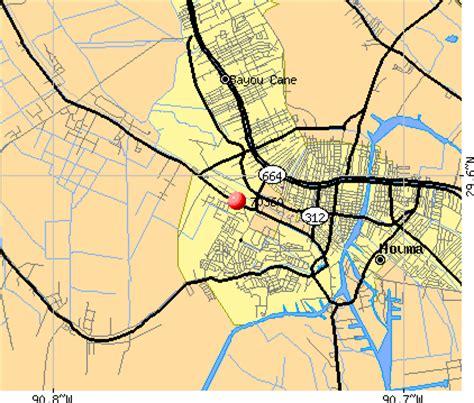 Zip Code Map Houma La | houma la zip code map zip code map