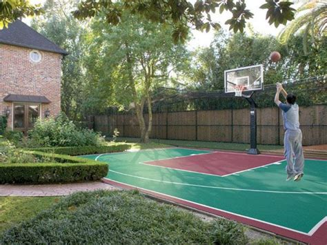 backyard basketball hoop 25 best backyard basketball court ideas on