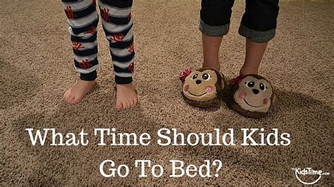 what time should kids go to bed what time should kids go to bed