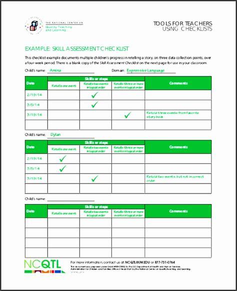 4 Skills Assessment Outline Sletemplatess Sletemplatess Network Design Checklist Template