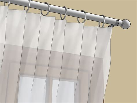 4 Ways To Hang Voile Wikihow