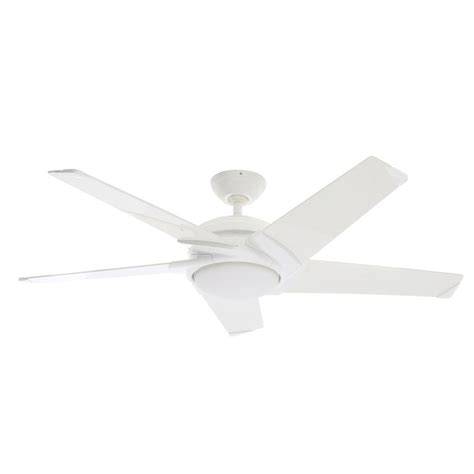 54 casablanca stealth ceiling fan casablanca stealth 54 in indoor snow white ceiling fan